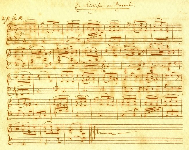schumann  klavierb u00fcchlein f u00fcr marie  facsimile  faksimile