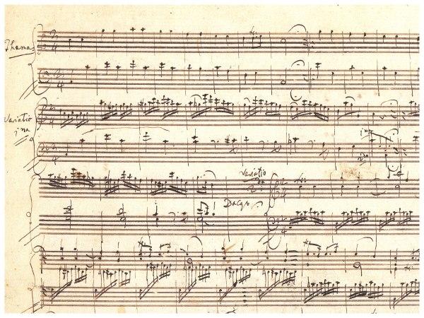 """265 Henle Mozart: Twelve Variations on /""""Ah Maman/"""" K vous dirai-je"""
